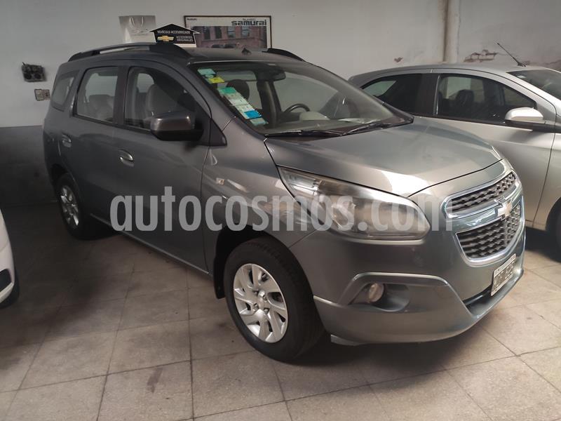 Chevrolet Spin LT 1.8 5 Pas usado (2014) color Gris Mond precio $620.000