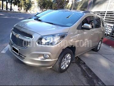 Chevrolet Spin LTZ 1.8 7 Pas Aut usado (2013) color Dorado precio $490.000