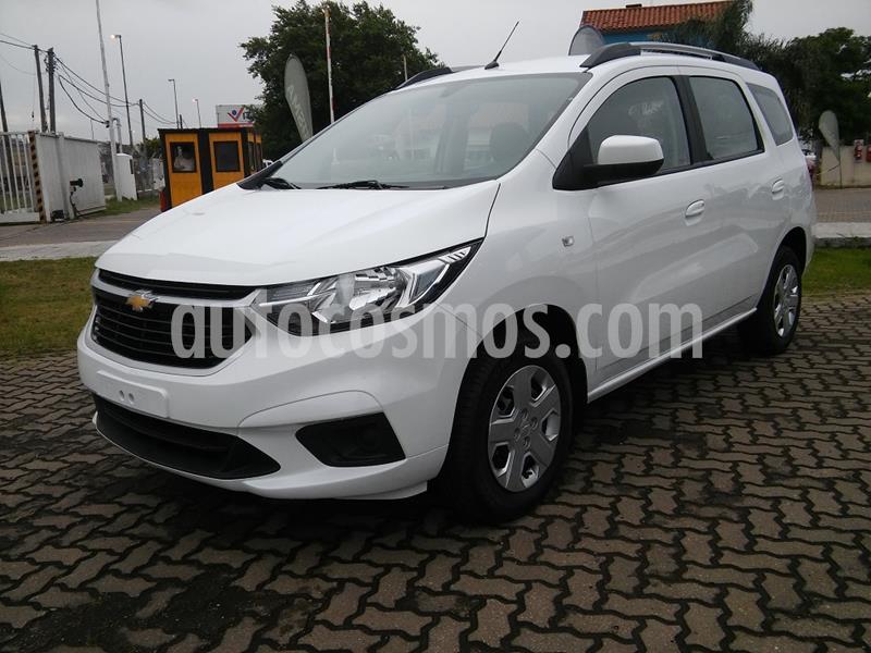 Chevrolet Spin LT 1.8 5 Pas nuevo color Blanco Summit precio $1.645.000