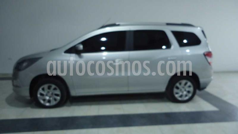 Chevrolet Spin 1.8 Nafta LTZ MT 7 plazas usado (2014) color Gris precio $740.000