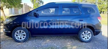 Chevrolet Spin LTZ 1.8 5 Pas usado (2017) color Azul Macaw precio $730.000
