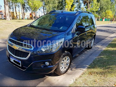 Chevrolet Spin LTZ 1.8 5 Pas usado (2018) color Azul precio $799.000