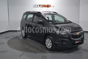 Foto venta Auto usado Chevrolet Spin LT 1.8 5 Pas (2018) color Gris Mond precio $620.000
