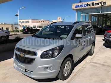 Foto venta Auto usado Chevrolet Spin LT 1.8L 5 Pas (2013) color Gris Claro precio $350.000