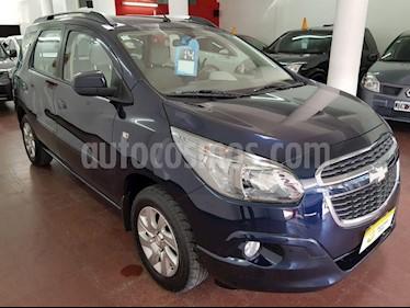 Foto venta Auto usado Chevrolet Spin LT 1.8L 5 Pas (2014) color Azul precio $370.000