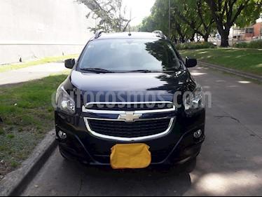 Foto venta Auto usado Chevrolet Spin LTZ 1.3 7 Pas TDi (2013) color Azul Macaw precio $420.000