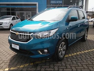 Chevrolet Spin LTZ 1.8 5 Pas nuevo color Azul Brillante precio $1.200.000