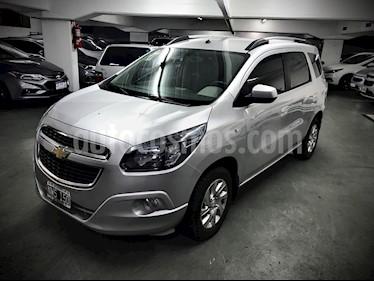 Foto venta Auto usado Chevrolet Spin LTZ 1.8 5 Pas (2014) color Gris precio $550.000