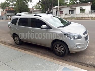 Foto venta Auto usado Chevrolet Spin LTZ 1.8 5 Pas (2015) color Gris precio $410.000