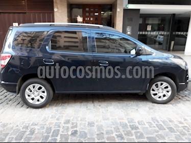 Foto venta Auto usado Chevrolet Spin LTZ 1.8 5 Pas (2015) color Azul precio $395.000