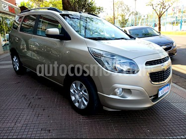 Foto venta Auto usado Chevrolet Spin LTZ 1.8 5 Pas (2013) color Gris precio $484.990