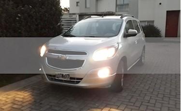 Foto venta Auto usado Chevrolet Spin LTZ 1.8 5 Pas (2015) color Gris precio $420.000