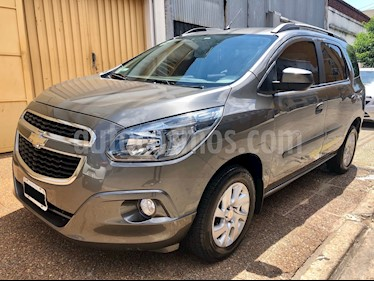 Foto venta Auto usado Chevrolet Spin LTZ 1.8 5 Pas (2014) color Gris Mond precio $385.000