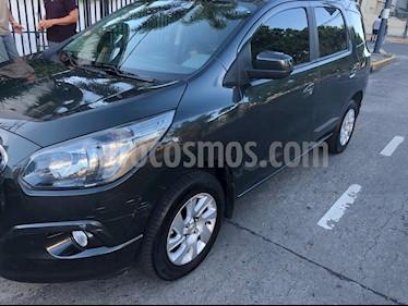 Foto venta Auto Usado Chevrolet Spin LTZ 1.8 7 Pas Aut (2017) color Gris Oscuro precio $489.000