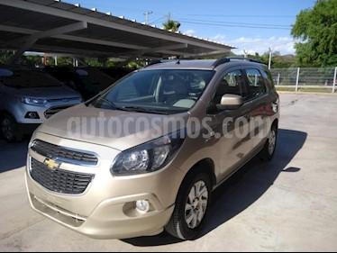Foto venta Auto Usado Chevrolet Spin LTZ 1.8 7 Pas Aut (2013) color Dorado precio $355.000
