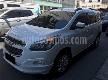 Foto venta Auto Usado Chevrolet Spin LTZ 1.8 7 Pas (2017) color Blanco Summit