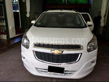 Foto venta Auto usado Chevrolet Spin LTZ 1.8 7 Pas (2016) color Blanco Summit precio $445.000