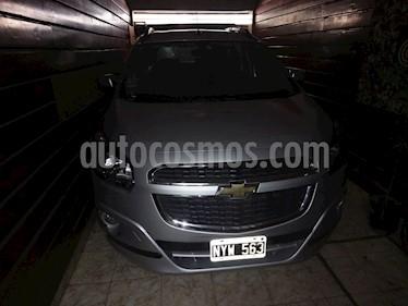 Foto venta Auto Usado Chevrolet Spin LTZ 1.8 7 Pas  (2014) color Plata Polaris precio $400.000