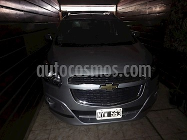 Foto Chevrolet Spin LTZ 1.8 7 Pas  usado (2014) color Plata Polaris precio $400.000