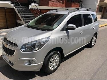 Foto venta Auto usado Chevrolet Spin LTZ 1.8 7 Pas  (2013) color Plata Polaris precio $355.900