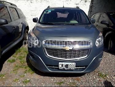 Foto venta Auto usado Chevrolet Spin LTZ 1.8L Die 5 Pas (2013) color Gris Oscuro precio $234.000