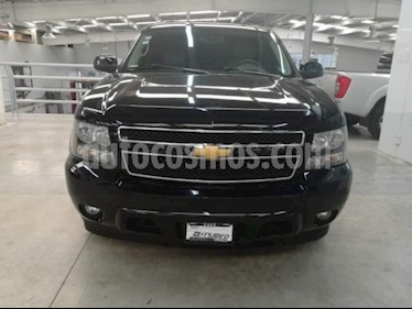 Foto venta Auto usado Chevrolet Suburban 5p LT V8/5.3 Aut Piel 2da/Banca (2014) color Negro precio $380,000