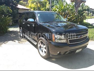 Foto venta Auto usado Chevrolet Suburban HD 4x4 (2008) color Negro precio $199,000