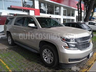 Foto venta Auto usado Chevrolet Suburban LS Tela (2017) color Marron precio $650,000