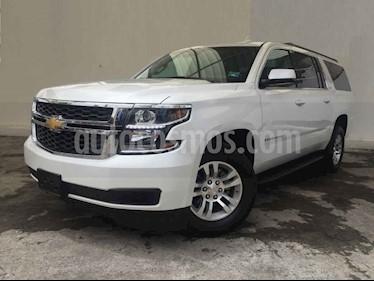 Foto venta Auto usado Chevrolet Suburban LT Piel Banca (2019) color Blanco precio $929,000