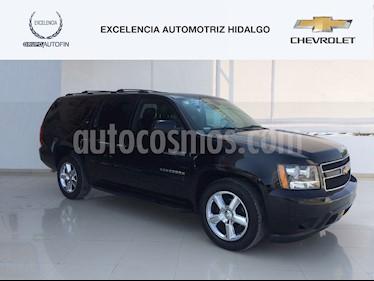 Foto venta Auto usado Chevrolet Suburban LT Piel Banca (2014) color Negro precio $370,000