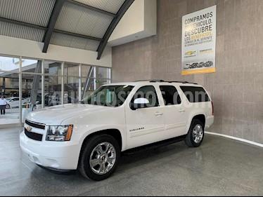 Chevrolet Suburban LT Piel usado (2010) color Blanco precio $240,000