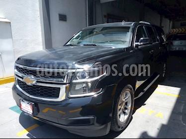 Foto venta Auto usado Chevrolet Suburban LT Piel (2016) color Negro precio $599,000