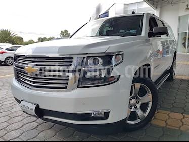 Foto venta Auto usado Chevrolet Suburban LTZ 4x4 (2016) color Blanco precio $549,000