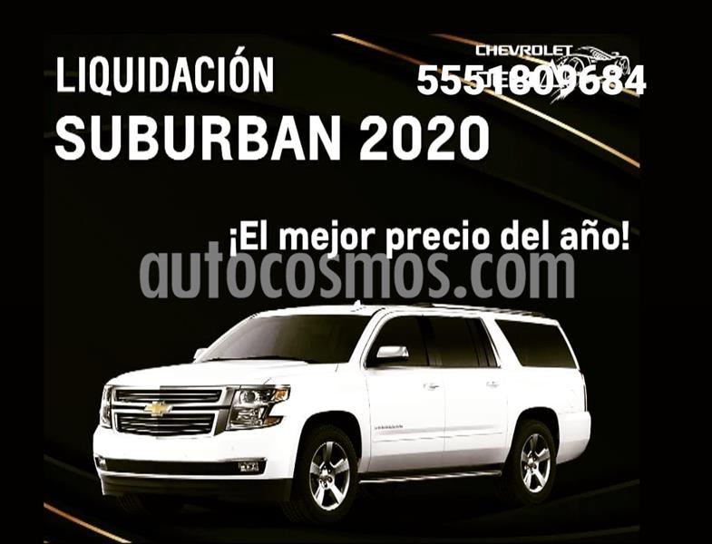 Chevrolet Suburban LT usado (2019) color Plata precio $899,000
