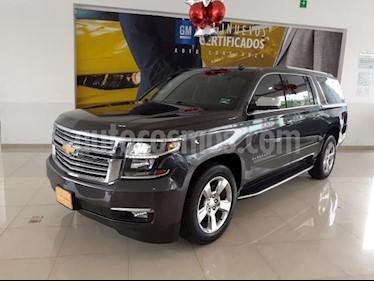 Foto Chevrolet Suburban 5P PREMIER 5.3L TA PIEL QC GPS 2ª FILA ASTOS. CUB usado (2017) color Gris precio $773,900