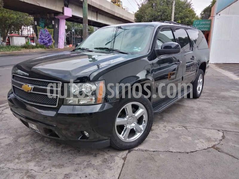 Chevrolet Suburban LT Piel Cubo usado (2014) color Negro precio $299,000