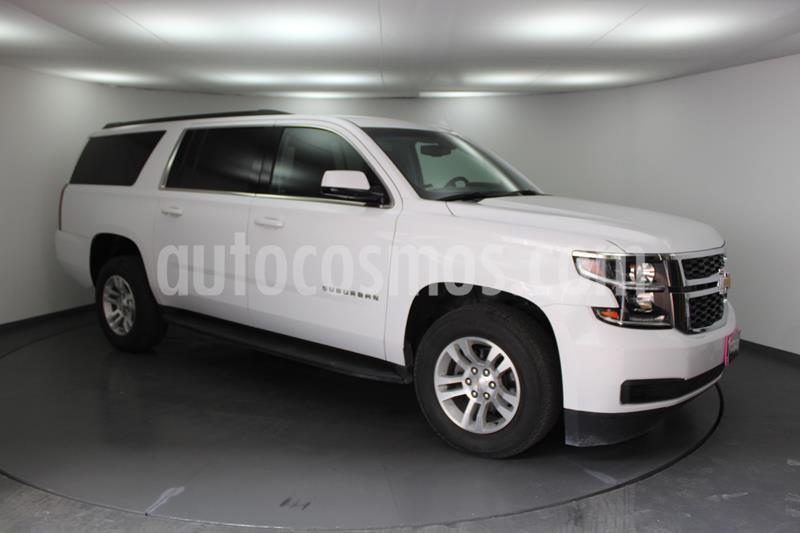 Foto Chevrolet Suburban LS Tela usado (2018) color Blanco precio $629,800