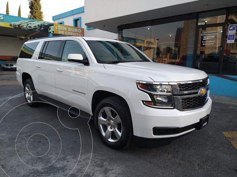 Foto Chevrolet Suburban LT Piel usado (2016) color Blanco precio $589,000