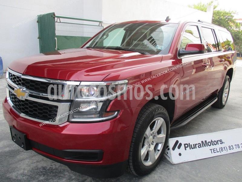 Chevrolet Suburban LT Piel usado (2015) color Rojo precio $489,000