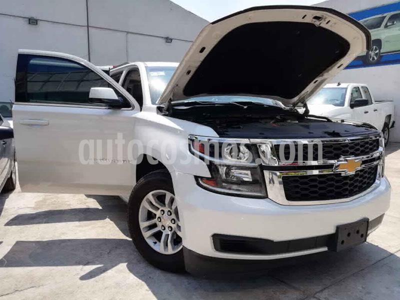 Chevrolet Suburban LT Piel Banca usado (2017) color Blanco precio $599,000