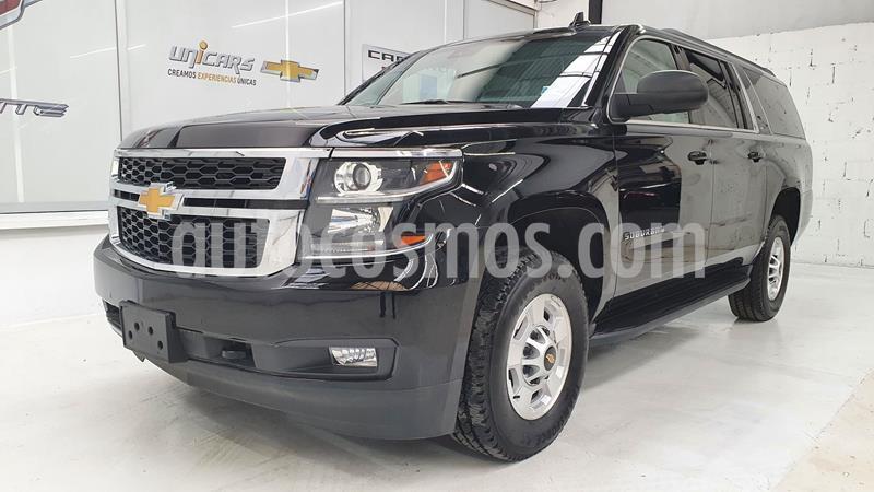 Chevrolet Suburban LT Piel Plus 4x4  usado (2019) color Negro precio $1,654,235