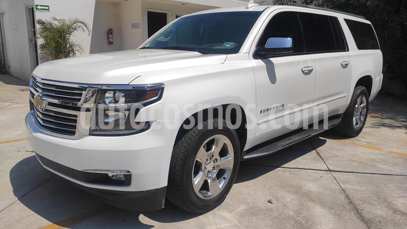Chevrolet Suburban LS Tela usado (2018) color Blanco precio $578,000