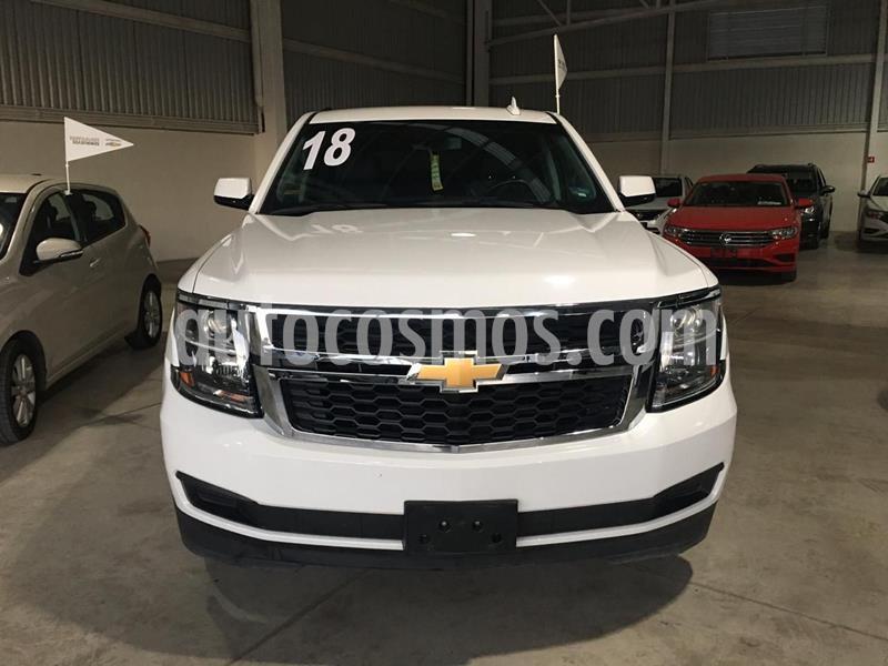 Chevrolet Suburban LT Piel usado (2018) color Blanco precio $650,000