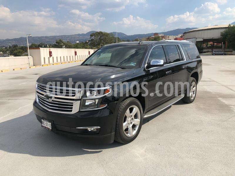 foto Chevrolet Suburban LTZ 4x4 usado (2015) color Negro precio $480,001