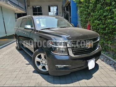 Chevrolet Suburban 5P PREMIER 5.3L TA PIEL QC GPS 2ª FILA ASTOS. CUB usado (2017) color Negro precio $700,000