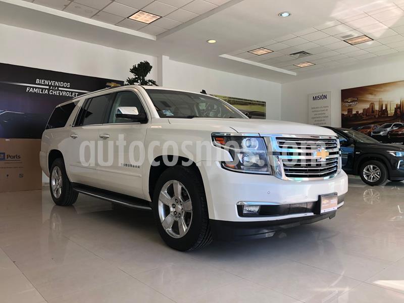 Chevrolet Suburban LT Piel Plus 4x4  usado (2015) color Blanco precio $480,000