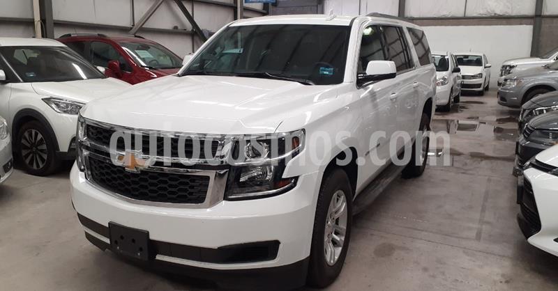 Chevrolet Suburban LT Piel usado (2020) color Blanco precio $899,900