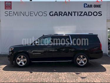 Chevrolet Suburban Paq D  usado (2016) color Negro precio $749,900