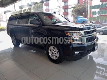 Chevrolet Suburban 5P LT 5.3L TA PIEL GPS RA-18 usado (2018) color Negro precio $1,450,000