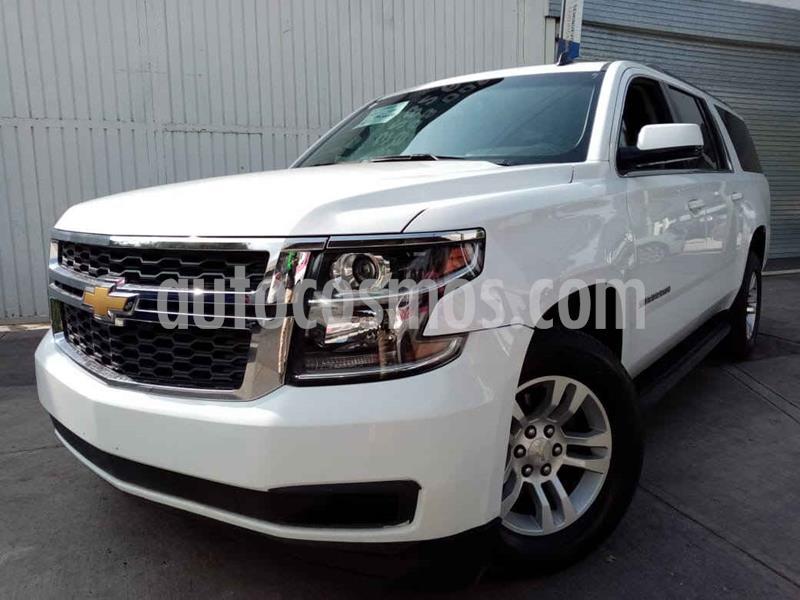 Chevrolet Suburban LT Piel Banca usado (2017) color Blanco precio $509,000